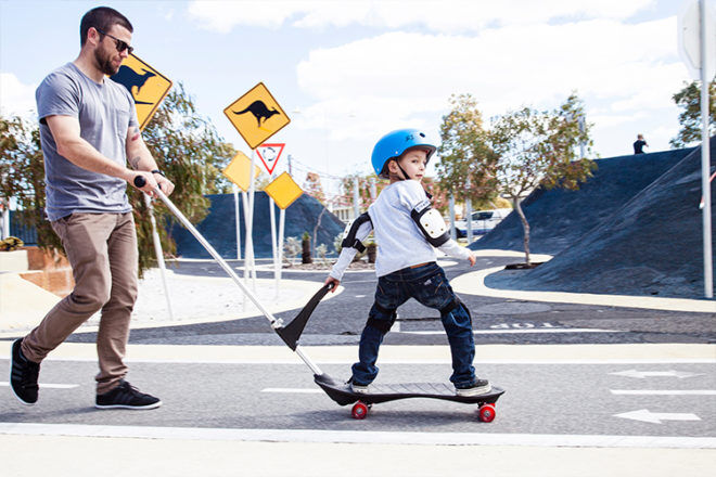 Safe kids skateboard for little kids