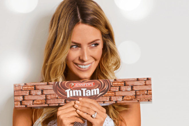 Personalised Tim Tams from Myer