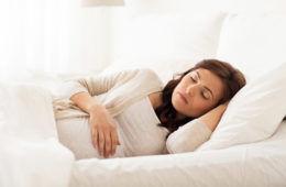 Side sleeping when pregnant reduces stillborn risk