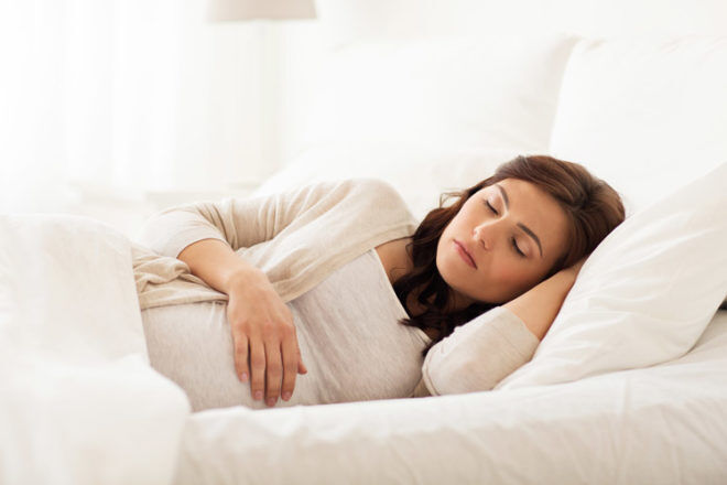 Side sleeping when pregnant reduces stillborn risk