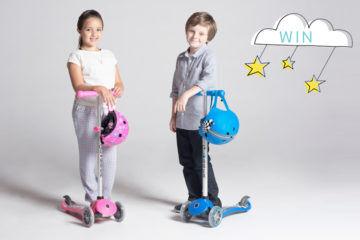 PRIMO fantasy globber scooter