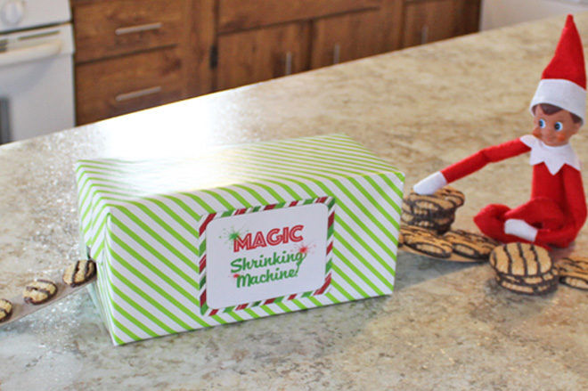 Elf magic machine printable