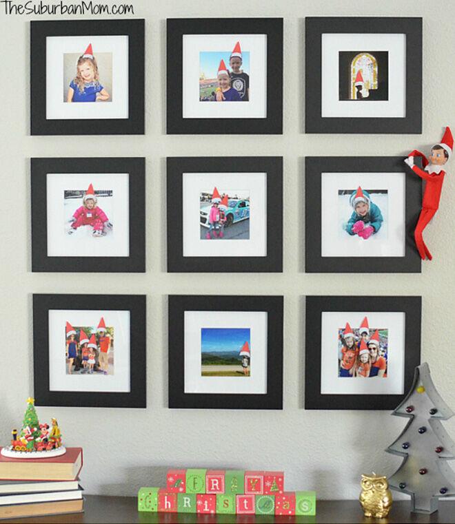 Santa hat printable for Elf on the Shelf
