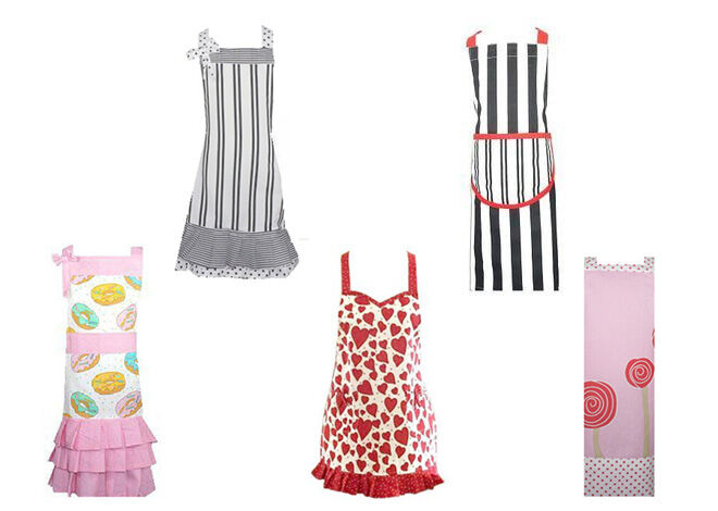 Sierra Rose children's pretend play kitchen essentials aprons