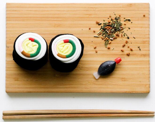 Short Story Sushi Socks teacher gift