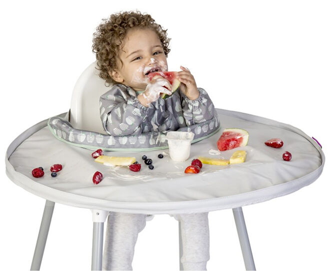 Tidy Tot Bib and Tray set for first baby food
