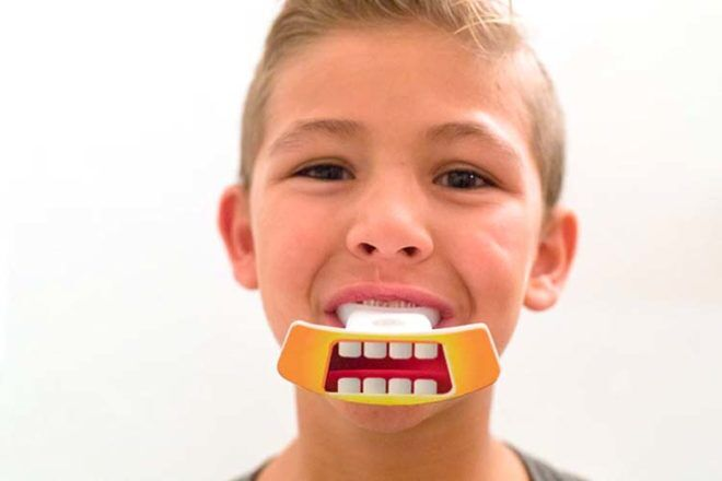 The uFunbrush is the world-first sonic toothbrush for kids that cleans kids teeth in just 10 seconds