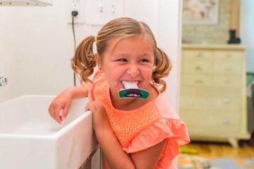 uFunbrush hands free 10 second toothbrush kids