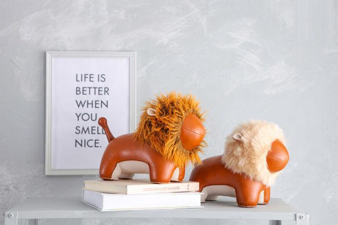 Zuny Lion Bookends