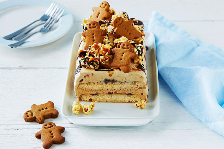 Gingerbread Ice Cream Cake Recipe