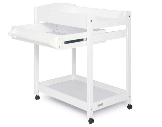 Grotime Duke change table with pullout shelf