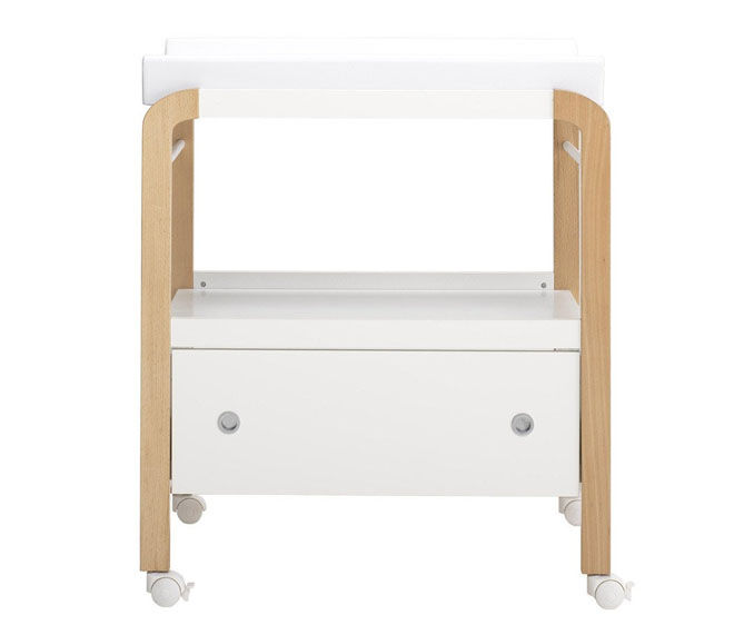 Hugs Factory Harlem change table with storage drawer