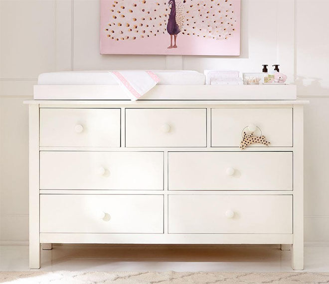 Pottery Barn Kendall Wide Dresser with storage drawers
