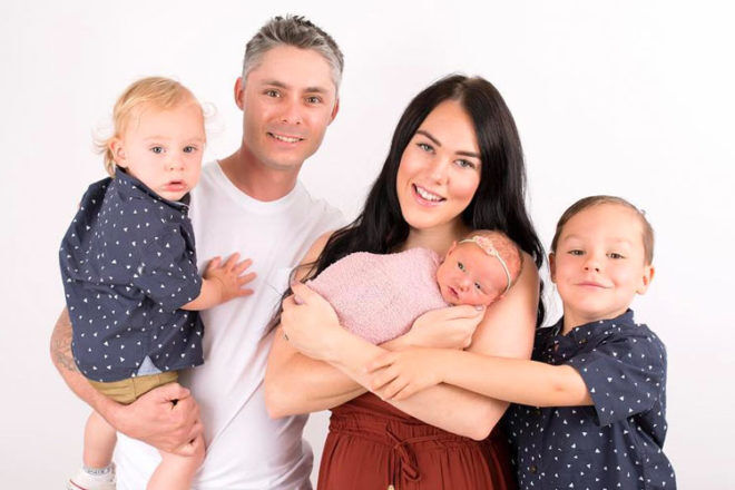 Amy Stewart FIFO mum homebirth