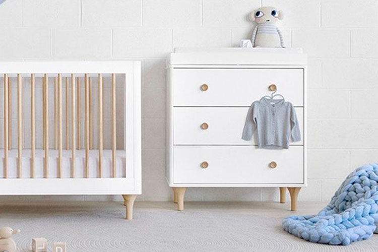 Nappy change table dresser