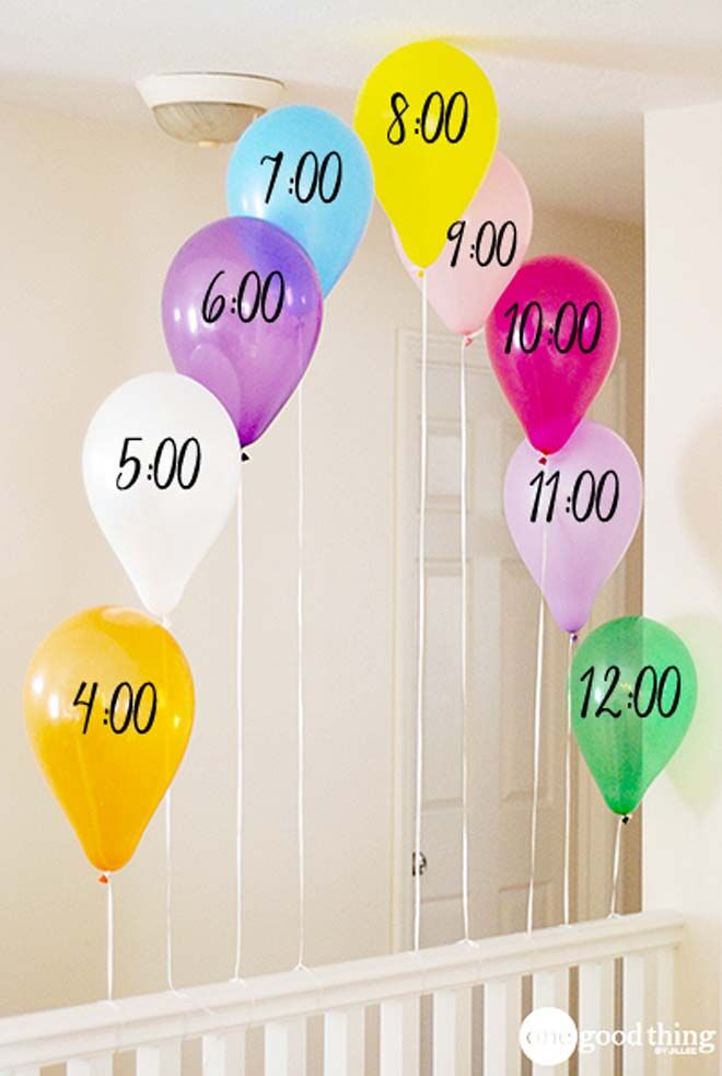 New Year's Even balloon countdown