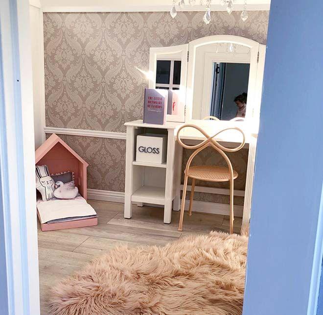 Luxurious parent-built cubby house