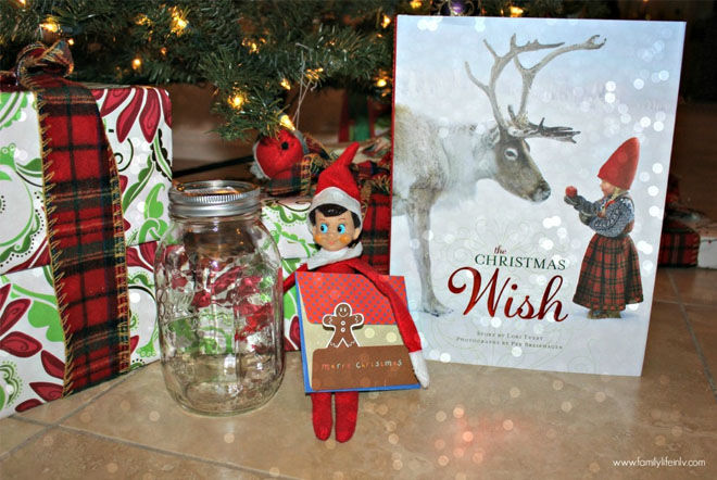 Farewell book from Elf on the Shelf
