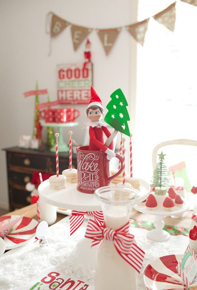 Elf on the Shelf farewell party