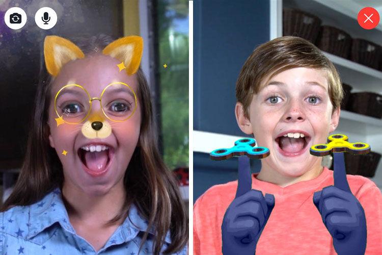 Facebook launched kids messenger