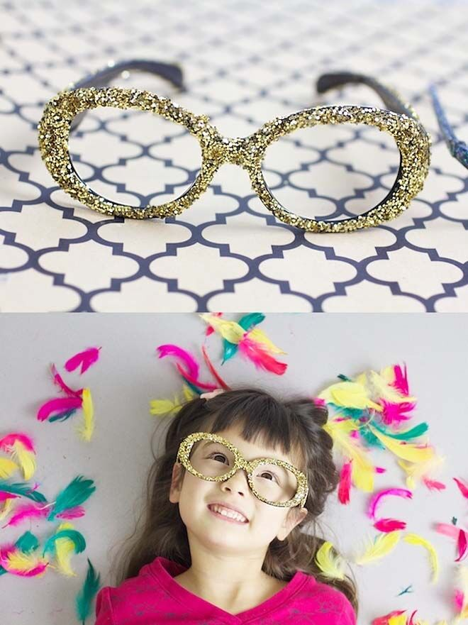 Fancy glasses for kids new year's eve