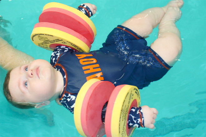 Finband kids swimming flotation aid