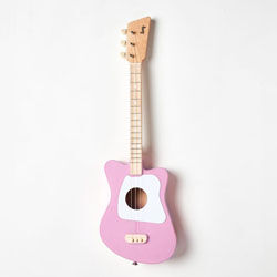 Pink toddler guitar