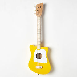 Yellow toddler guitar Loog