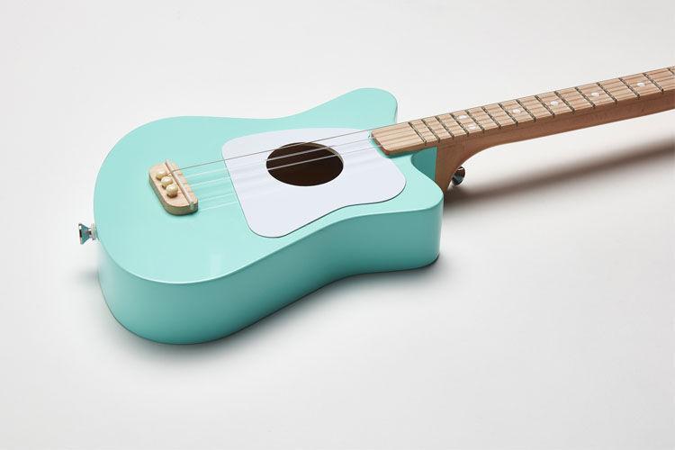 Simple children's three string loog guitar