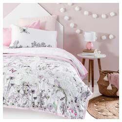 Pillow Talk fairy quilt cover