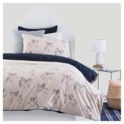 Pillow Talk Unicorn Quilt Cover