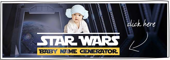 Star Wars Baby Name Generator
