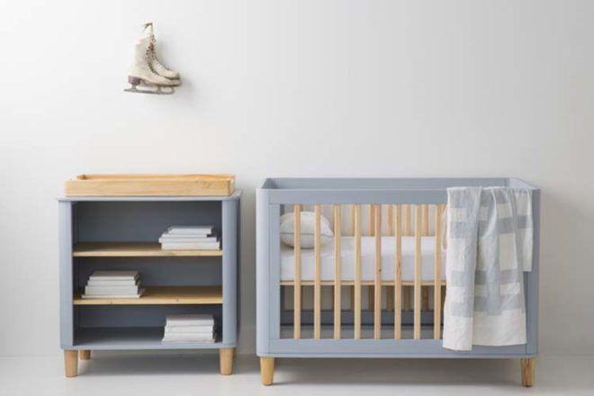 Incy Interiors Teeny Change Table open shelves