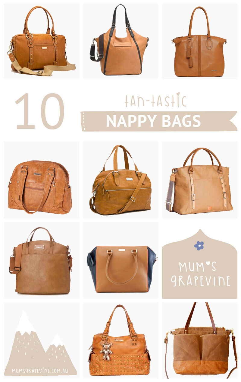 10 Best Tan Nappy Bags