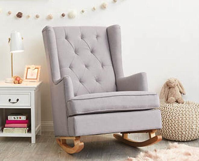 Terrific Aldi Baby Rocker Armchair Arm Designs Bralicious Painted Fabric Chair Ideas Braliciousco