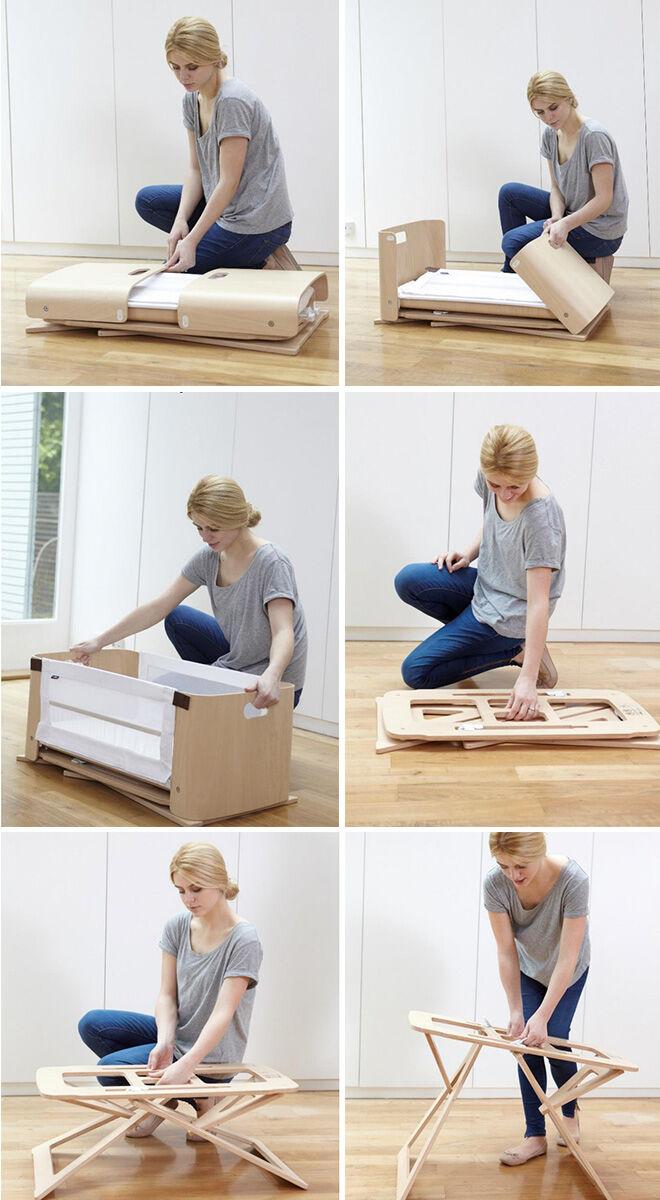 Bednest bassinet for safe cosleeping