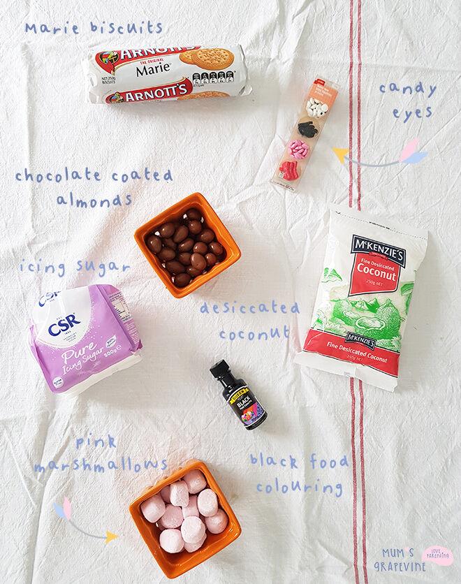 Koala cookies ingredients
