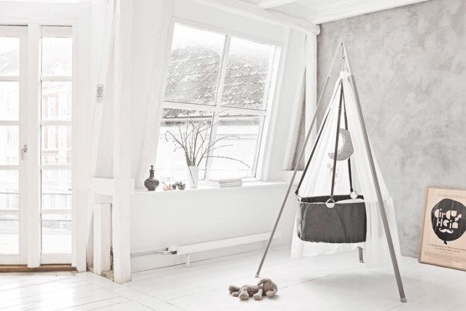 Leander Cradle Grey