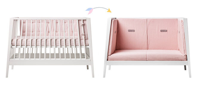 Linea Cot conversion to toddler bed