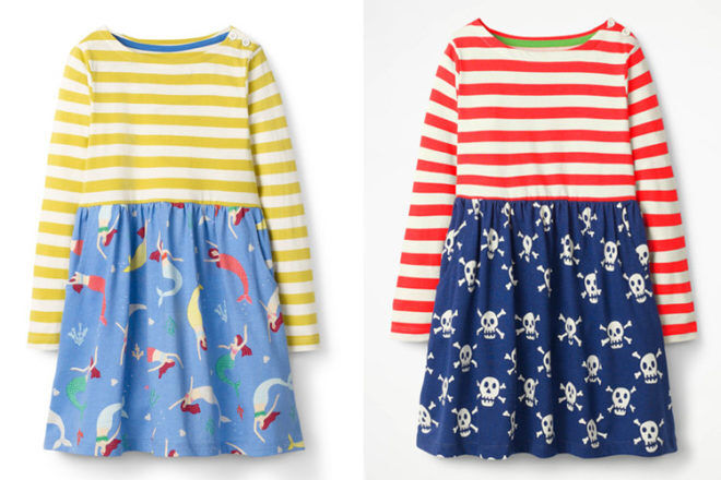 Mini Boden pirates dresses