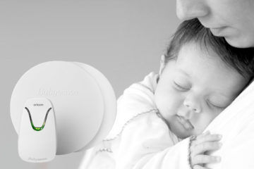 Oricom Babysense7 infant breathing movement monitor