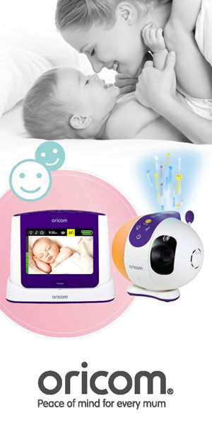 Oricom touch screen baby monitor