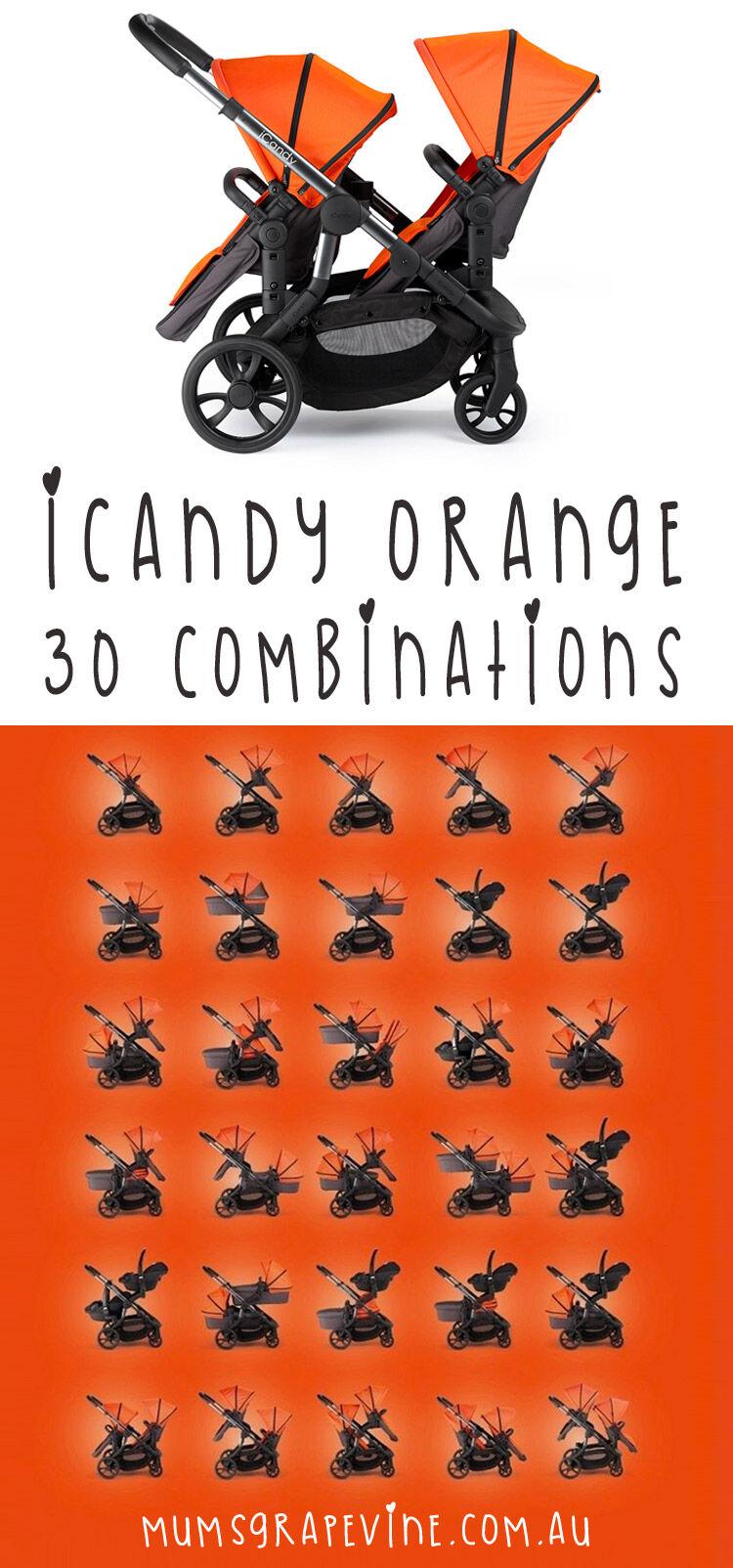 iCandy Orange combinations