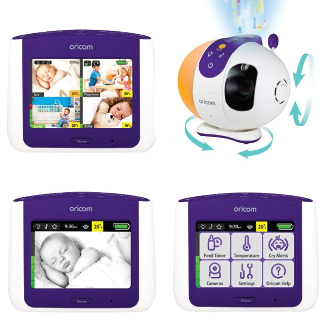 Oricom Secure870 touchscreen video baby monitor