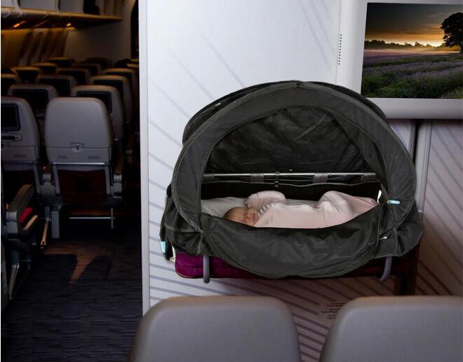 Cozigo in flight bassinet cover