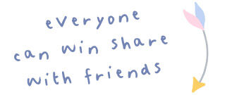 CTA - everyone can win share with friends