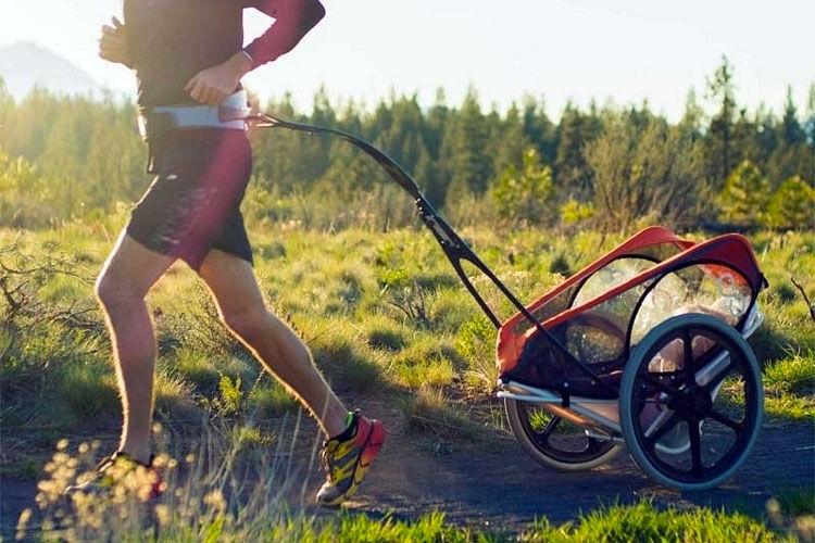 kidRunner jogging trailer stroller