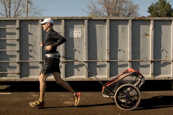 KidRunner Jogging Stroller That Tows Your Kid