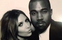 Kim Kardashian Kanye West name third baby