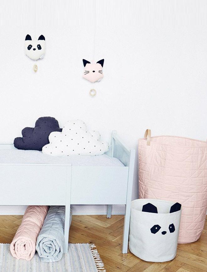 Liewood panda storage basket